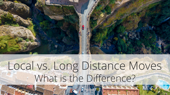 Tucson Moving Service clarifies the difference between a local vs a long distance move.